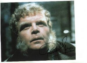 Geoffrey Hughes from Yellow Submarine, Dr Who and the royal family